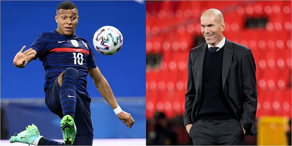 PSG super star Kylian Mbappe reveals why he turned Real Madrid down despite speaking with Zidane