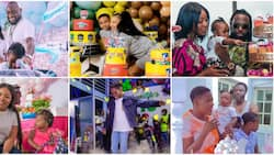 Mercy Johnson, Davido and 4 other celebrities who have thrown lavish birthday parties for their kids this year
