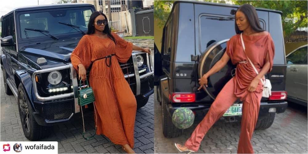 Popular Nigerian actress stuns fans as she juggles the ball more than 25 times while wearing high-heeled shoe
