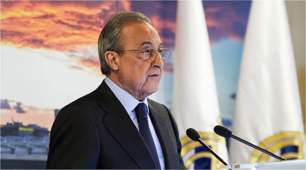 Angry Real Madrid President Florentino Perez Breaks Silence Over Newly-Formed European Super League