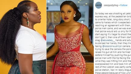 Celebrity hair stylist shares photos and rants about how he and his teammates were assaulted during a shoot in Lagos