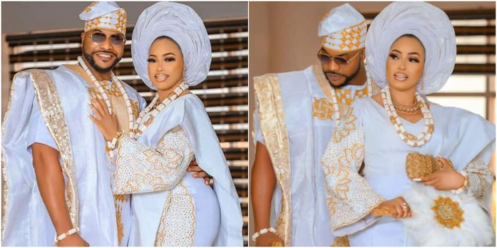 Actor Bolanle Ninalowo and his wife