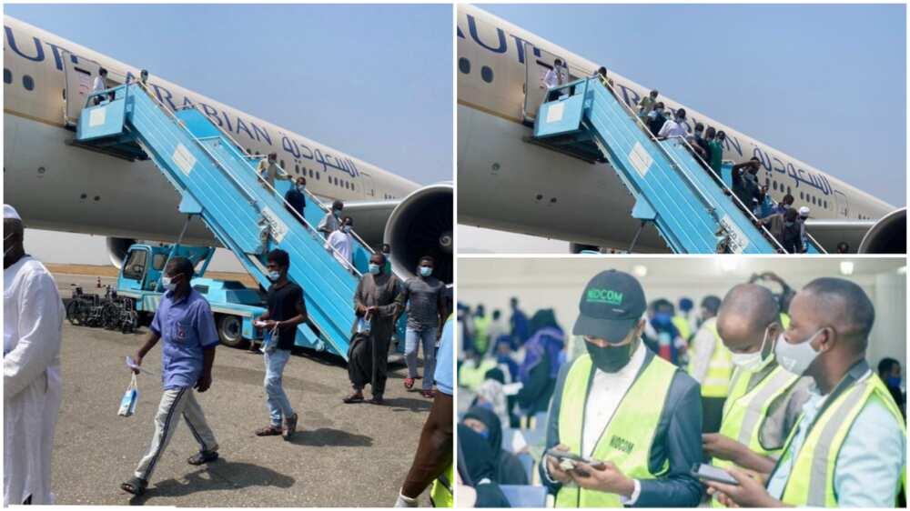 COVID-19: Nigerian returnees from Saudi Arabia reject quarantine