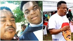 Your mumu go pass my own: Actor Victor Osuagwu celebrates lookalike son as he graduates from university