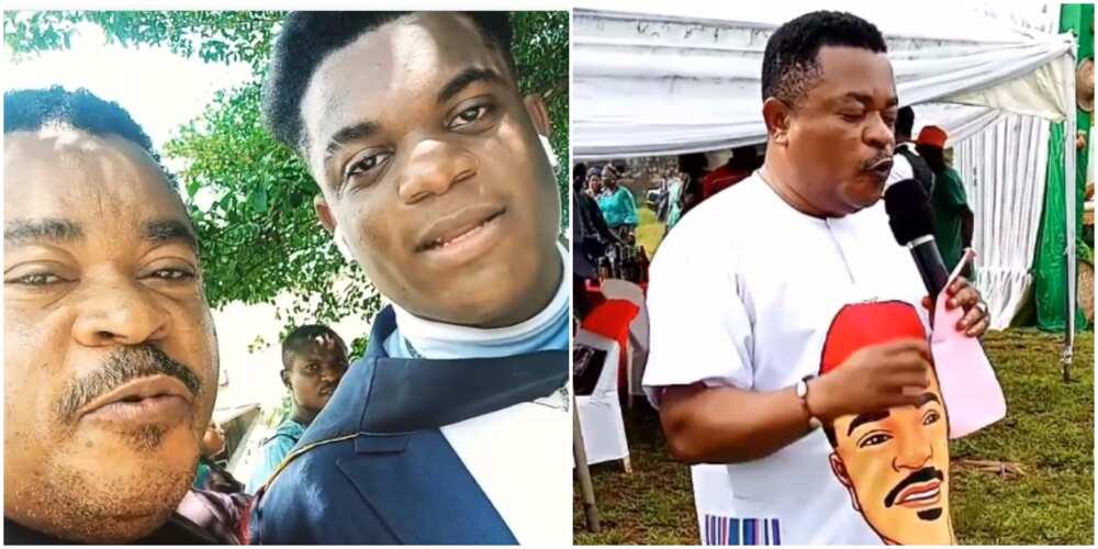 Victor Osuagwu and son