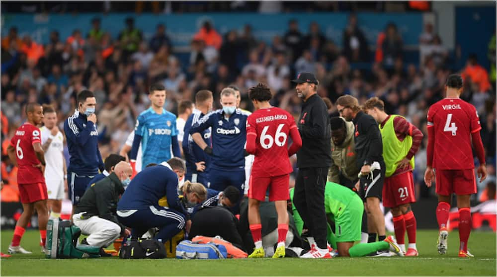 Anxiety at Anfield As Liverpool Star Set to Undergo Surgery After Dislocating Ankle Against Leeds