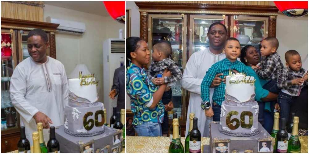 Femi Fani Kayode celebrates 60th birthday with friends and family (photos)