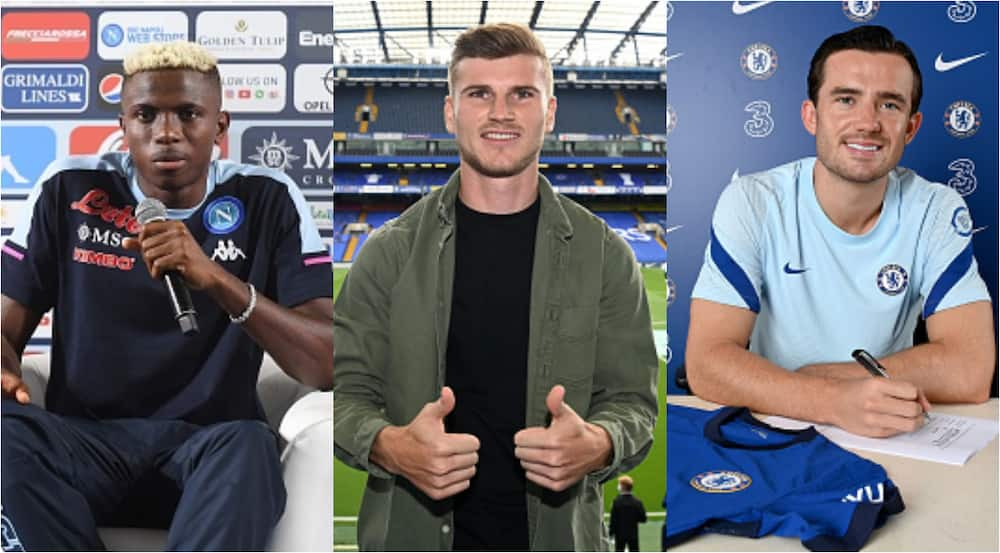 Victor Osimhen is 3rd in most expensive summer transfers, beats Werner, Chilwell
