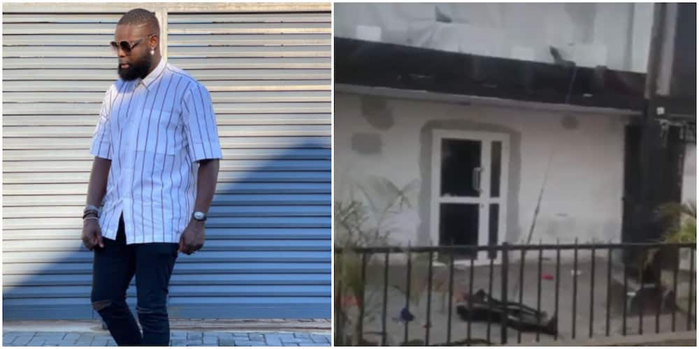 Fashion Designer Yomi Casual devastated as hoodlums loot his store (video)
