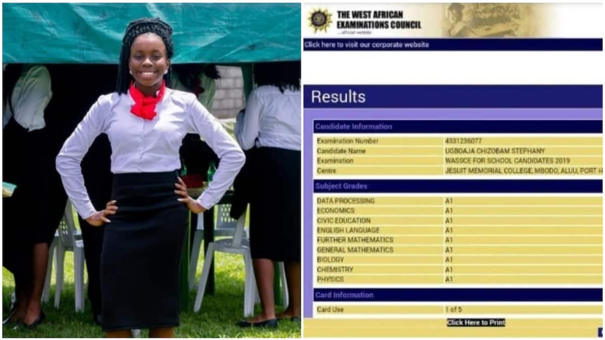 16-year-old girl from Imo state makes all As in WAEC ▷ Legit ng