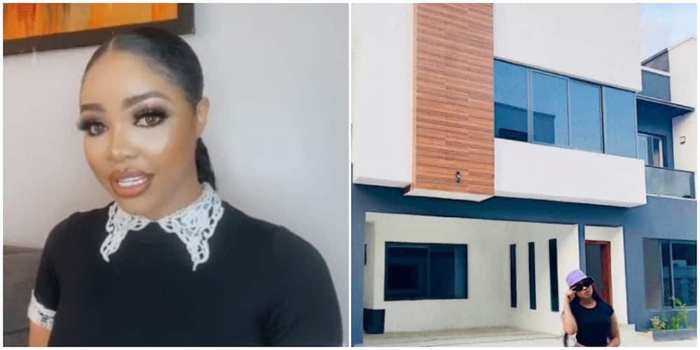 BBNaija star Nengi officially a Lagos landlady as she acquires her first home, shares photos
