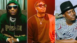 One love?: Wizkid performs at Olamide's concert but Jaywon is bounced from entering the venue (video)