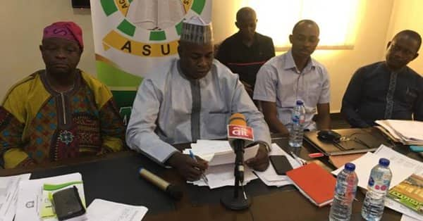 ASUP suspends strike