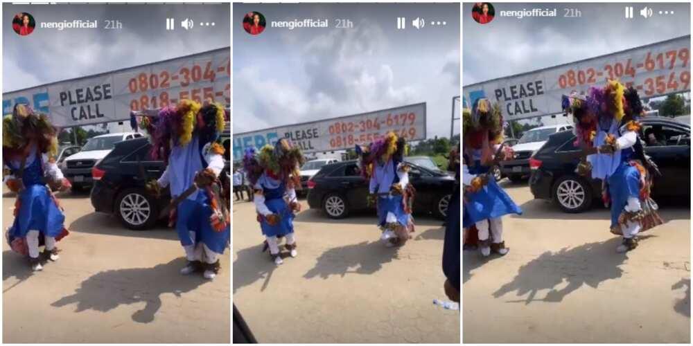 BBNaija's Nengi treated to warm welcome as she visits Port Harcourt (Photo, Video)