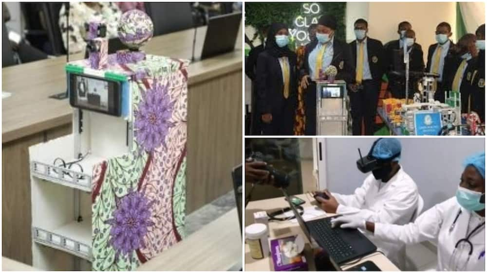 Mairabot: Nigerian secondary school students build mobile robot to protect healthcare workers from COVID-19, Atiku reacts