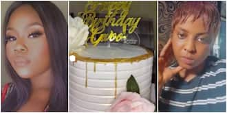 Lady calls out friend who stole her birthday cake and drinks, shares CCTV footage