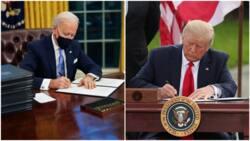 Kafin a je ko ina, Biden ya kawo dokoki 17 da za suyi fatali da manyan tsare-tsaren Trump