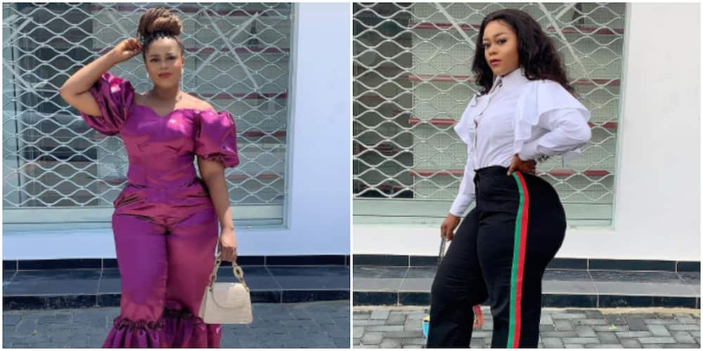 Actress Didi Ekanem says she was extorted by policemen in Lagos
