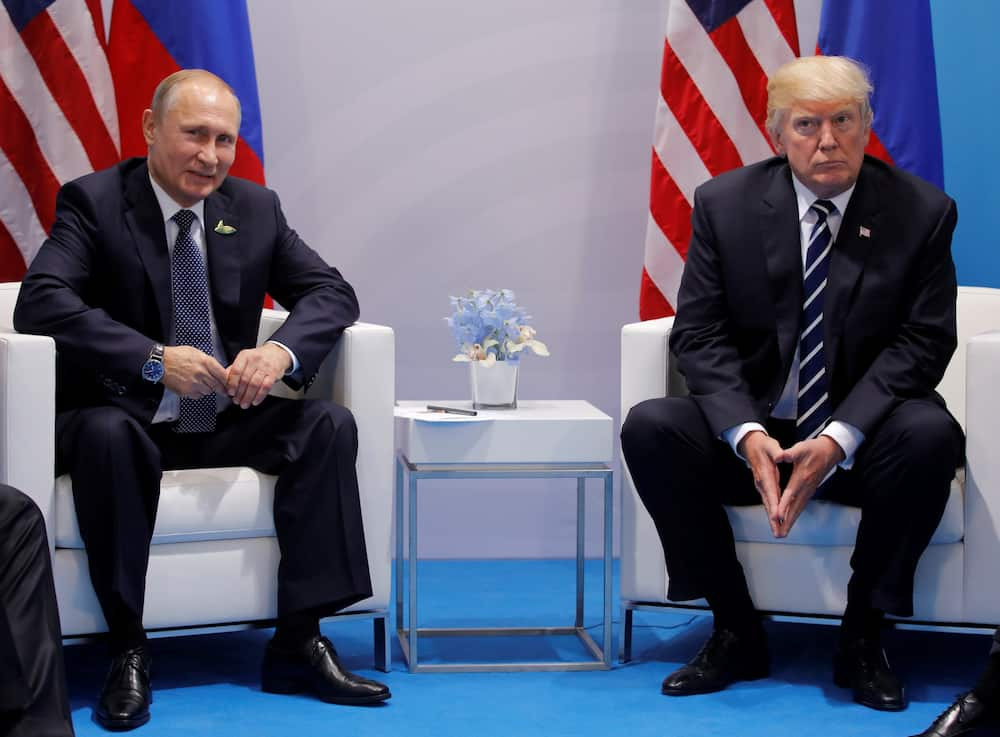 Donald Trump: Vladimir Putin US president will not be removed from office