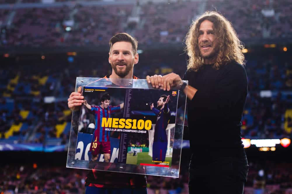 Lionel Messi: Carles Puyol says he was lucky to play along with Barcelona legend