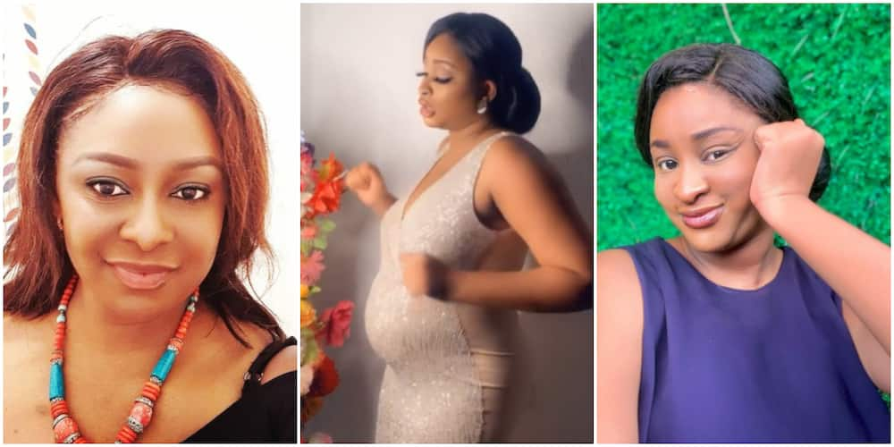 Actress Etinosa Idemudia replies people who said she shaded single mothers (video)