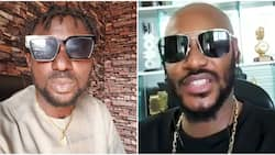 Fans wade in as singers 2baba and Blackface exchange heated words on Twitter
