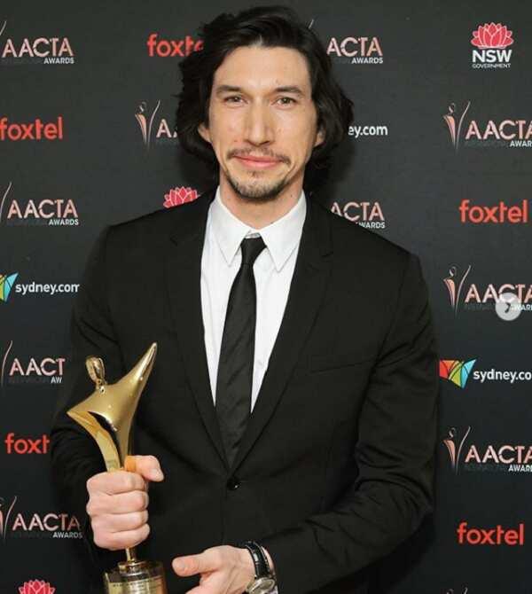 Adam Driver awards