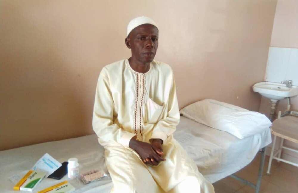 Gwamna Inuwa ya kai wa wanda ya taka zuwa Abuja wurin Buhari dauki bayan ya koka da ciwon kafa