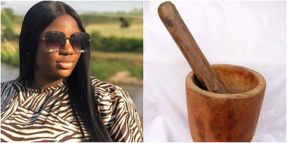 BBNaija Dorathy reveals her mum came visiting with mortar and pestle