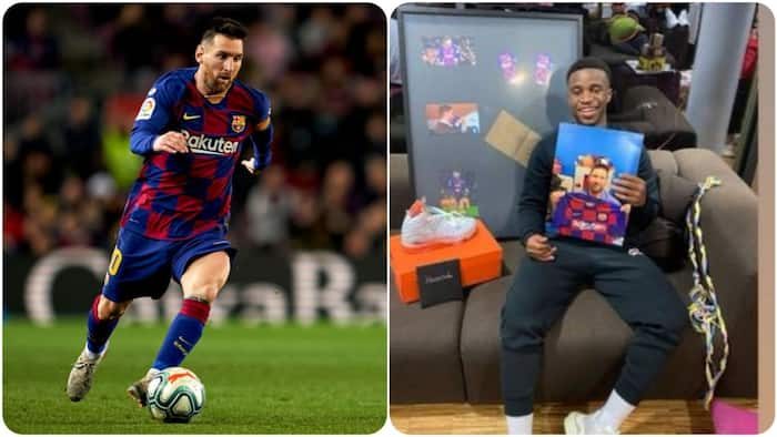 Messi sends surprise birthday gift to youngster who recently emulated Ronaldo's goal celebration