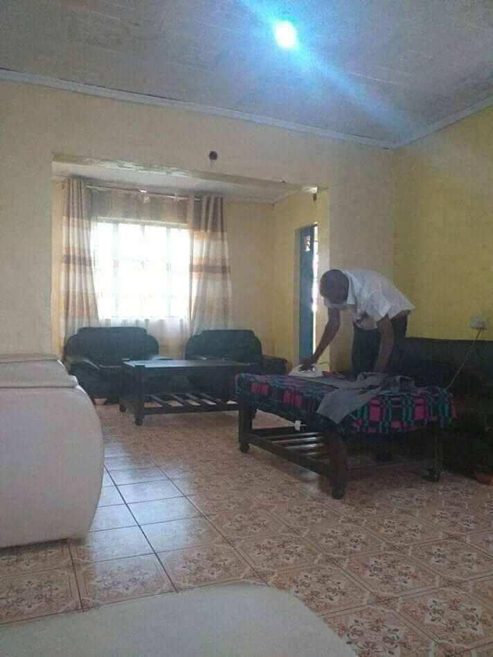 Kenyan woman builds beautiful house in memory of late mum