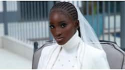 Bridal look inspiration: Photos of turtleneck outfit for civil wedding leaves many in awe