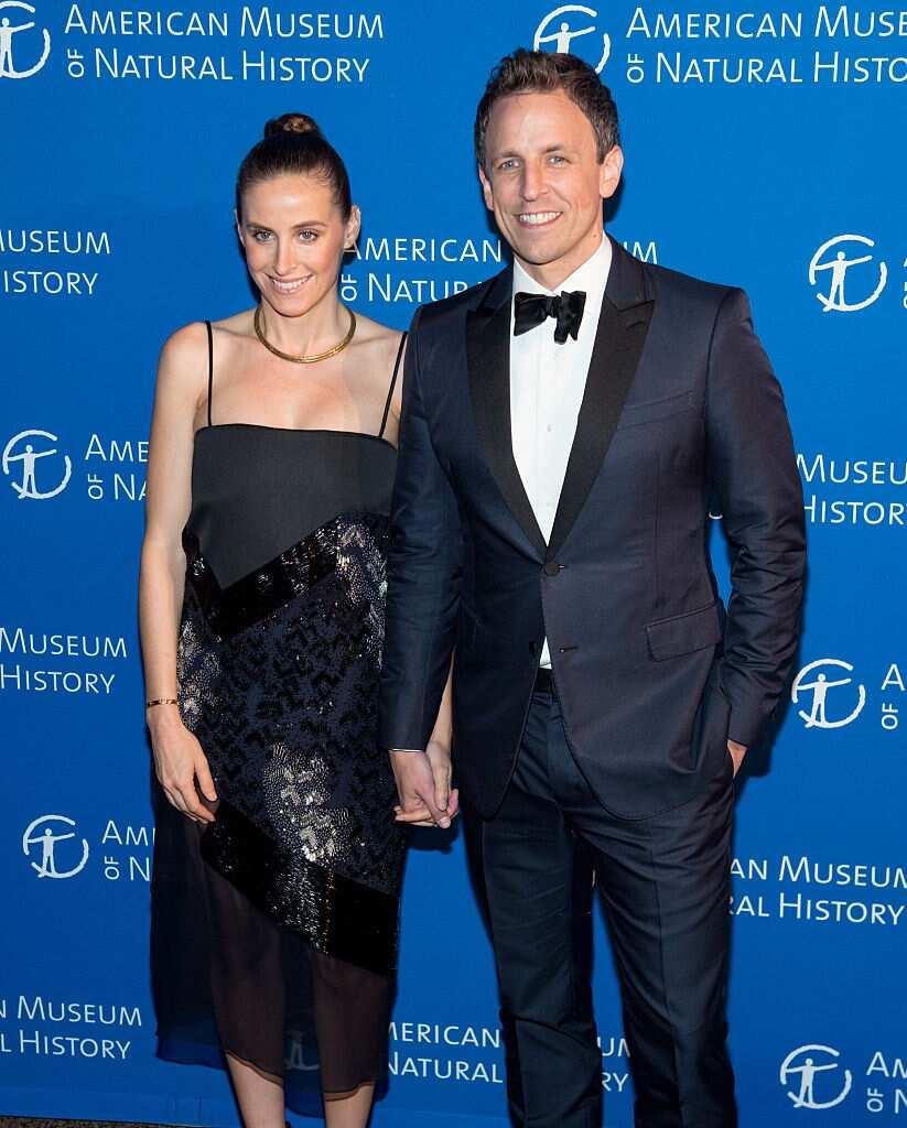 Seth Meyers wife