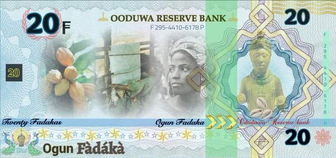 Group Introduces Currency for Proposed Yoruba Nation, details and photo emerge