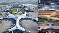 Stunning photos of the new N6.4tn China airport that has 5G wifi, 4 runways and other cool features wow many