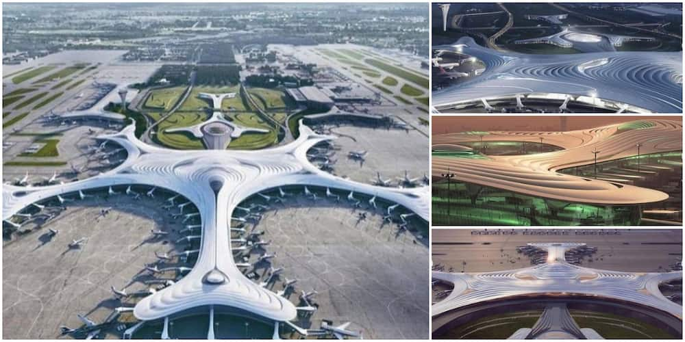 Stunning Photos of the New N6.4 trn China Airport that Has 5G Wifi, 4 Runways and Other Cool Features Wow Many