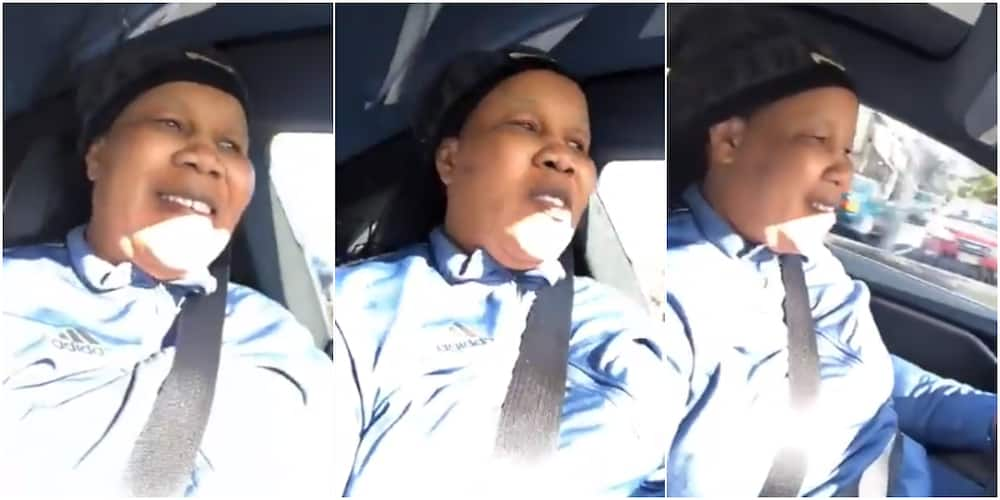 Igbo woman sends social media into frenzy as she cruises around town with N34 million electric car