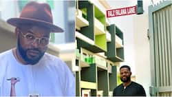 Singer Falz honoured in Lagos as street is named after him, shares photo