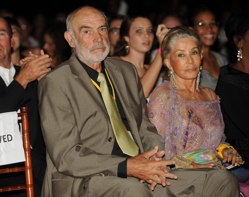 Sean Connery's wife