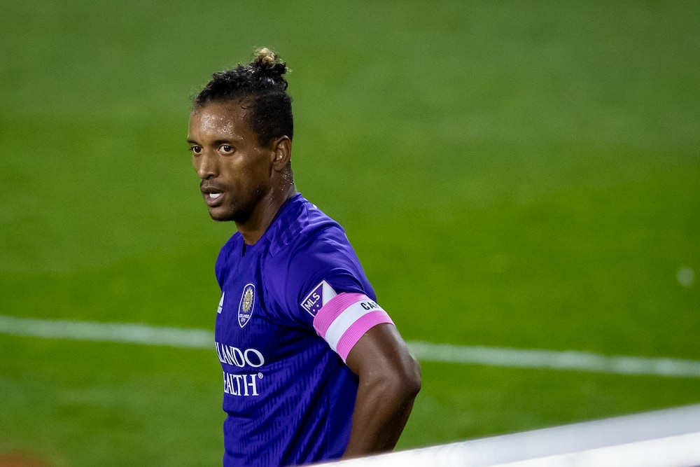 Nani breaks down in tears after being sent off for Orlando City against Columbus Crew