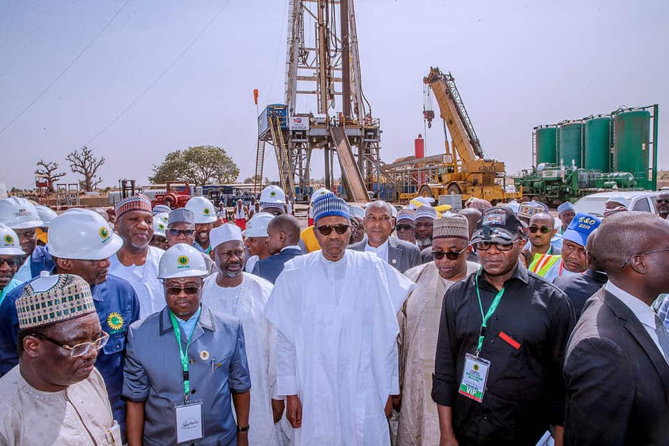 Image result for NNPC DISCOVERS OIL IN KOLMANI