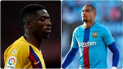 Former Barcelona star labels Dembele a 'little child' 2 years after joining the club