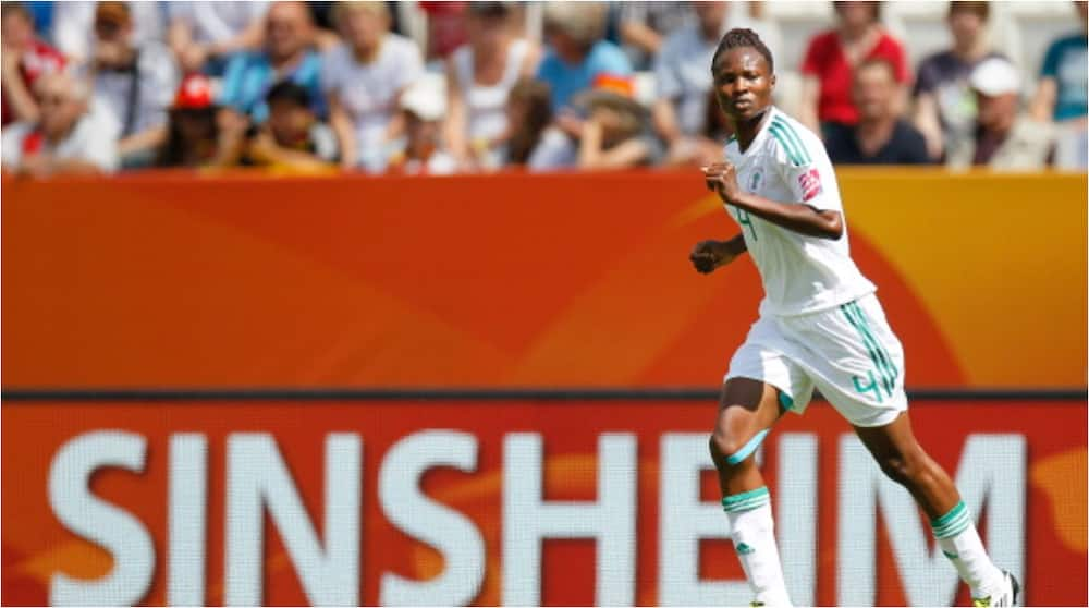 Former Super Falcons Captain Loses Husband Barely Five Years After Marriage Ceremony