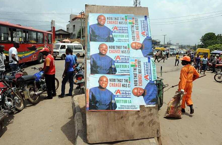 Current political parties in Nigeria