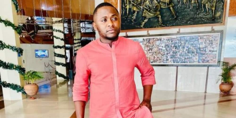 Ubi Franklin advises men to speak to someone if they need to, tells them to stop forming hard guy