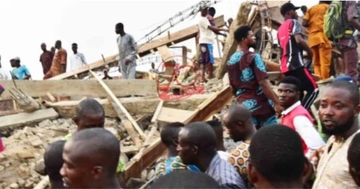 Breaking: Another building collapses, many trapped in Ibadan