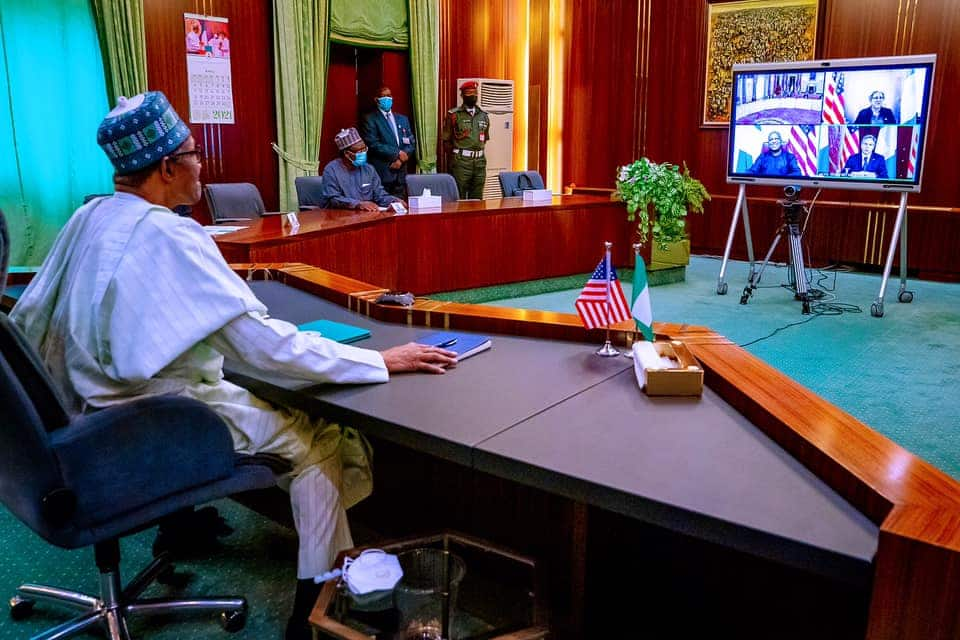 Breaking: Buhari asks US to relocate defence command HQ, gives reason