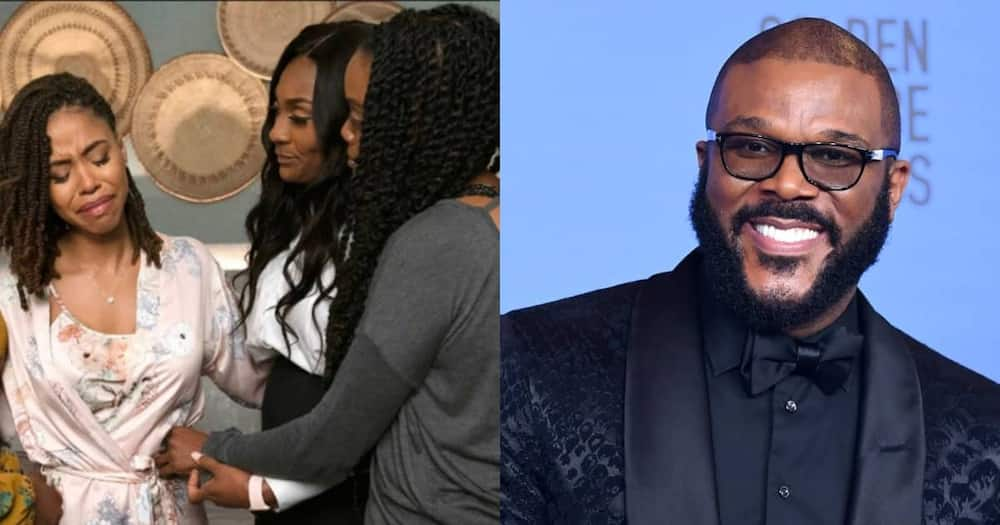 Tyler Perry reacts to criticism against his casts wigs.