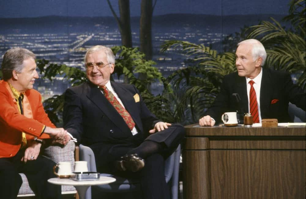 How many times was Johnny Carson married