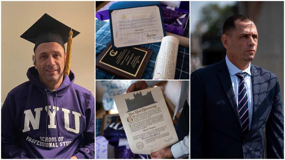 John Gargano Jr graduated from New York University.